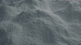 sack : Moving Over Cement Powder Stock Footage