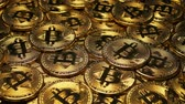 bitcoins : Pile Of Gold Bitcoins Crypto Currency