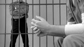 aéreo : Scenes from jail or prison. Stock Footage