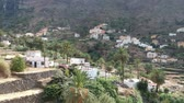 spain : Drone footage of Valle Gran Rey at La Gomera island