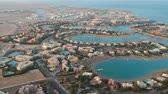 археология : View of modern city El Gouna in Egypt