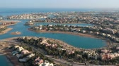 египетский : Scenery view of modern city El Gouna in Egypt
