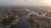 ancient egypt : Viewof Aswan (Egypt), Elephantine island and river Nile