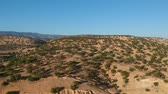 marokko : Beautiful Nature of Morocco near Marrakech   from above