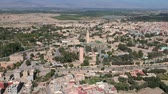 kasbah : Flying over a Kasbah and Medina at Morocco with Drone