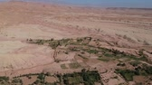 ベン : Flying near Ait-Ben-Haddou at Morocco with Drone - Ait-Ben-Haddou from above 動画素材
