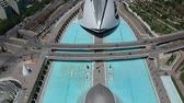 strichmänchen : Flying over City of Arts and Sciences at Valencia and Spain with Drone