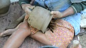 loam : traditional method for pottery in Thailand