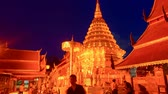 lanna : Wat Phra That Doi Suthep in Chiang Mai, Thailand.