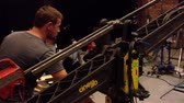 film production - behind scenes - crane - puppet theatre