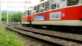 sleepers : CZECH REPUBLIC, PRAGUE - JULY 13, 2015: train travel in the countryside