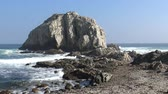 praia : Landscape, cliff at a beach and seaside