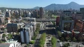 krajobraz : Aerial view of a city in Chile