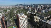 a view : Aerial view of a city in Chile