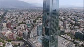 apartamentos : Aerial view of a city and buildings in Chile