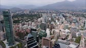 lakások : Aerial view of a city and buildings in Chile