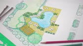 pool deck : Landscape architect design backyard plan for villa