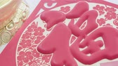 money thai : Chinese New year Red Envelopes,Packets or Hong bao(mandarin) ,blessing text meaning lucky and success
