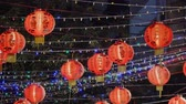 Chinese New Year lanterns decorations at chinatown