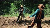 leather : Cowboys with revolver shooting gunfight.