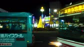 business : : Night lapse 4 K near Kichijouji station wide shot.mov