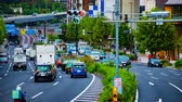parkplatz : Time lapse at s-shaped avenue in Akasaka