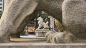 koruyucu : Statue guardian dog at Kanda shrine in Tokyo