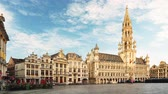Grand Place in Brussels, Belgium - Time lapse