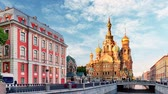 salvador : St. Petersburg - Church of the Saviour on Spilled Blood, Russia, Time lapse Vídeos