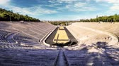 Panathenaic stadium in Athens, Greece - Time lapse