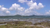 weather : kenting national park in taiwan Stock Footage
