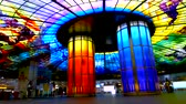 multicolor : The Dome of Light at Formosa Boulevard Station, the central station of Kaohsiung subway system