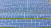 zonnepaneel : Aerial view of Solar Panels Farm