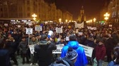 política : TIMISOARA, ROMANIA - 01.29.2017: anti government protests against pardon manifestation crowd
