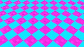 simplicidade : animated background of low poly square. 3d render