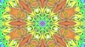 orb : multicolored abstract animated patterns. kaleidoscope. 3d render