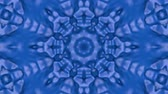sfondo : Abstract looped blue background. 3d render Filmati Stock