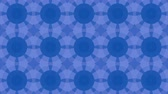 Abstract looped blue background. 3d render Filmati Stock