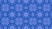 narożniki : Abstract looped blue background. 3d render Wideo