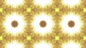 フィルター : Yellow Beige Kaleidoscope Background. abstract. 3d render