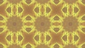 caleidoscoop : Yellow Beige Kaleidoscope Background. abstract. 3d render