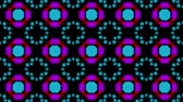 dairesel : Multicolored kaleidoscope background. looped. 3d rendering
