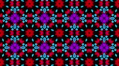 postacie : Multicolored kaleidoscope background. looped. 3d rendering