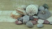 useful resources : Sea stones on a wooden background