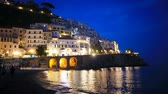 Beautiful coastal towns of Italy - scenic Amalfi village in Amalfi coast Dostupné videozáznamy