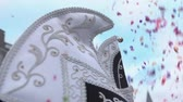 has fun : Carnival Cinemagraph - Jesters Cap and Confetti - ProRes