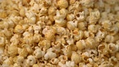 corn : popcorn rotate motion background. Stock Footage