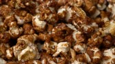 kernels : popcorn rotate motion background. Stock Footage