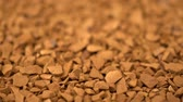estanho : Footage coffee granule rotating background. Stock Footage