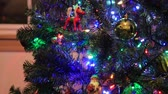bombki : bright twinkly christmas lights Wideo